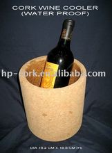 cork ice bucket/cork wine cooler