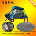 Roller type egg tray machine with CE certificate