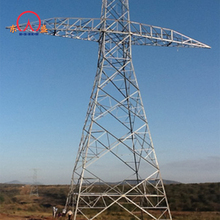 Galvanized power 30ft steel 10kv 35kv 69kv 132kv 138kv transmission line electric utility pole