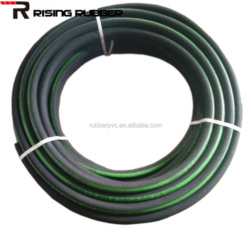 WP. 20 Bar 300 PSI Cotton Braided High Pressure Air Rubber Hose