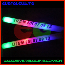 led foam flashing light stick party toys for kids