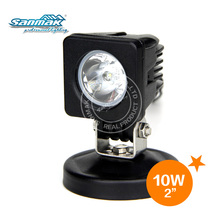 "2"" mini single led lights Cree chip 10w led motorcycle lights 6101 led work lamps"