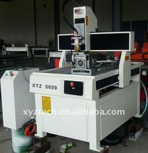 metal foil model cnc engraving machine XYZ-0609
