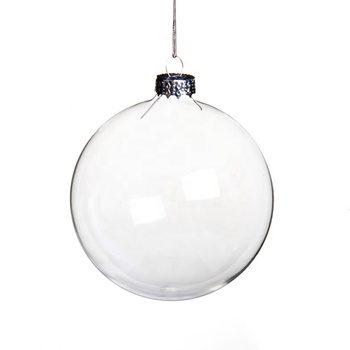 Clear Glass Ball 100 Wholesale Clear Glass Christmas Ball Ornament