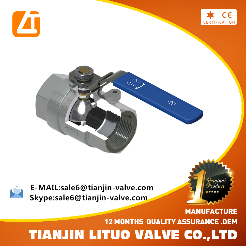 NPT threaded hs code ball valve 1/2 inch