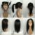 Glueless Straight Lace Front Wigs With Ponytail