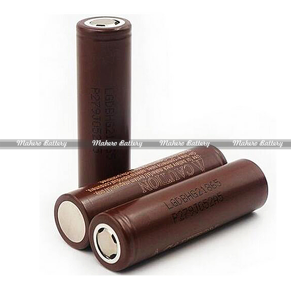 Wholesale chocolate LG HG2 3000mah 3.7v rechargebale li-ion battery original LGDBHG21865 18650 battery