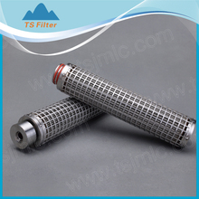 High quality stainless steel pleated filter cartridges high temperature resistance Metal pleated Cartridges
