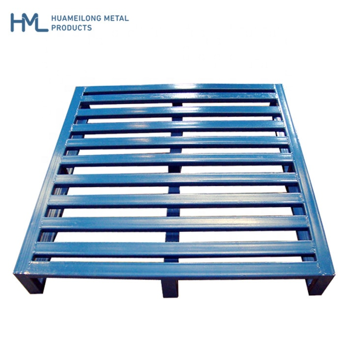 High quality low cost steel Q235 industry logistics european heavy duty 1200 <strong>x</strong> <strong>1000</strong> metal cheap steel pallet