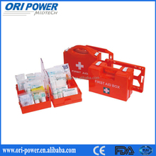 OP HOT SELL ISO FDA CE approved first aid kit for the home disaster preparedness supplies DIN13157 first aid kit