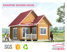 prefabricated tiny log house ready made house manufacturers price KPL-006