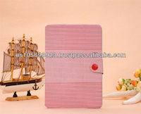 Cute PU leather smart cover case for Mini Ipad