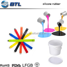 Smooth And Fine Hand Feeling Silicone Screen Printing Ink For Silicone Rubber Products