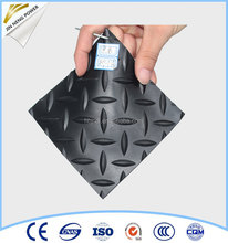 Good anti slip rubber sheet floor mat