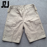 manufacturing military cargo vintage camouflage shorts