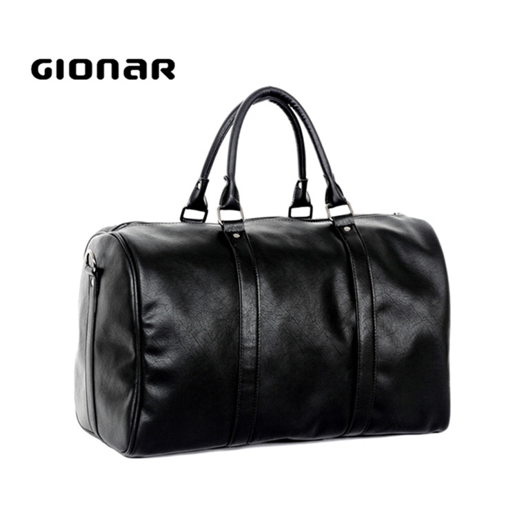 Hot Sell Oversize PU Leather Travel Bag Gym Duffle Bag