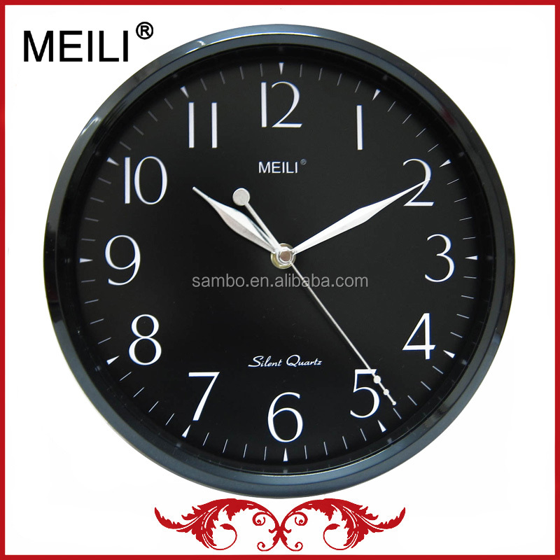 [MEILI]10 Inches Promotional Plastic Wall Clock