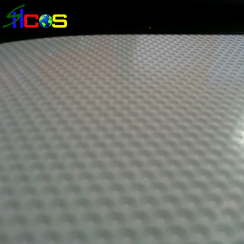 Widely Use Glass Sticker One Way Vision See Through Vinyl