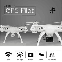manfacturer new design 2.4g rc quadcopter drone GPS drone Real-time FPV camera quadcopter