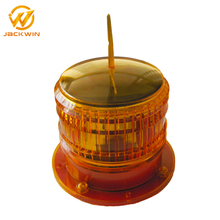 LED Strobe Warning Solar Amber Flashing Light for Tower Building