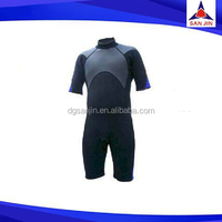 Good qualitty customized neoprene nylon fabric 2.5 mm diving wetsuit