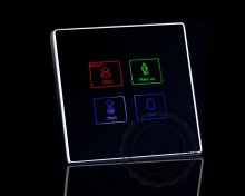 AODSN hotel touch key switch dedicated switch room light control system