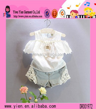 Korean Fashion Style Children Girls White Dress Sexy Without Dress Wholesale High Quality Girls Denim Skirts
