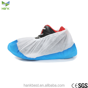 Pp/cpe capsule plastic disposable rain shoe cover