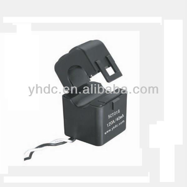 120A/40mA Split-core current transformer SCT016, iron core