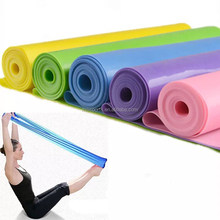 yoga gym crossfit sport resistance bands home fitness sport equipment the latex resistance bands expand bands