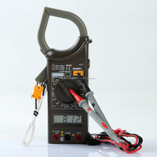 Mastech M266C AC digital clamp meter, low price digital clamp meter M266C with temp test in Oem logo