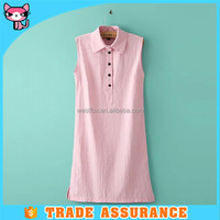 Collection pink short ladies dress manufacturer