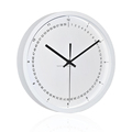 23cm fashion and simple office decorative plastic wall clock