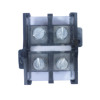 Dual Row 2 3 4 Positions 660V 125A manufacturer power distribution box 35mm2 terminal block