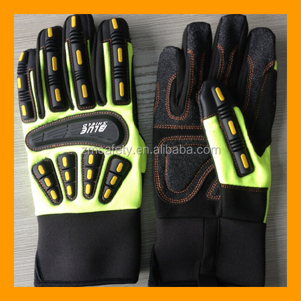 Oilfield Knuckle Protection Gloves
