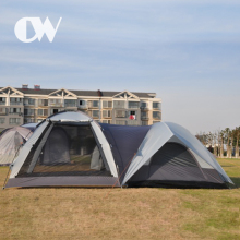 Professional factory chinese 8 10 person luxury safari large dome house outdoor camping big tent for sale