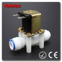 Water dispenser solenoid valve electric water valve new type of valve cam lock key