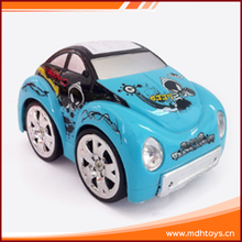 New product plastic ABS mini rc stunt toy car 360 degrees for kids