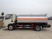 Small size boiler fuel truck safety refueller for construction