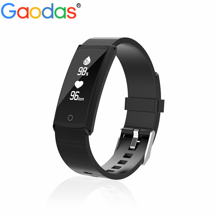 Smart Bracelet S6 Blood Pressure Oxygen Heart Rate Monitor Sports Wristband Waterproof IP68 Smart Band For Android IOS Phone