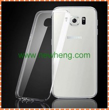 factory price ultra thin clear tpu cover cell phone case for samsung s7 edge