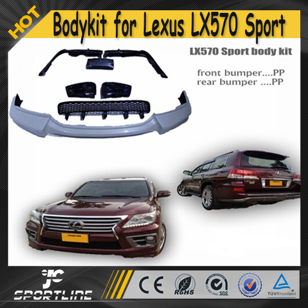 LX570 Sport PP Auto Car Body Kit for Lexus