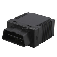 Plug & play obd ii gps gprs gsm car tracker gps306 for SMS tracking on cellphone with a googlemap link