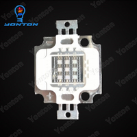 Factory price 10w high power uv led 410nm for grow lighting