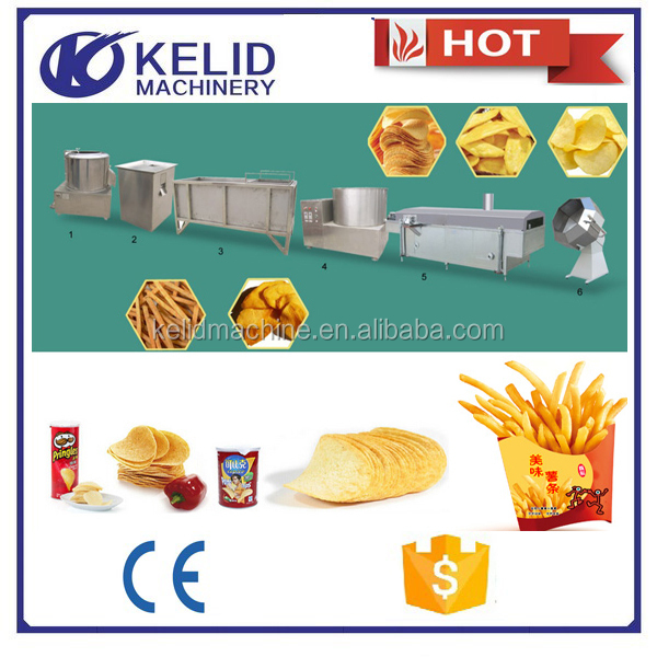 Automatic snack food flavoring roller machine flavoring machine for potato chips