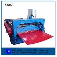 Metal R Wall Panel Roll Forming Machine With Nice finishing