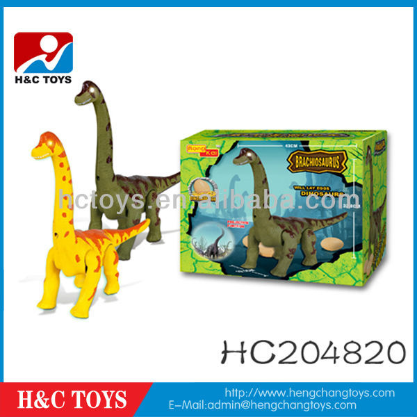 Battery Operated Animal Dinosaur Lay Eggs,B/O dragon/brachiosaurus HC204820