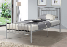 Hot sales cheap metal single bed 90X190CM