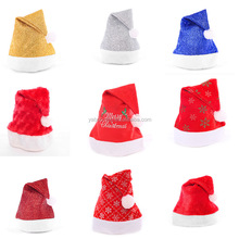 10 Style Red Christmas Hats Santa Hat Decor Hats for Children Adults New Year Gifts New