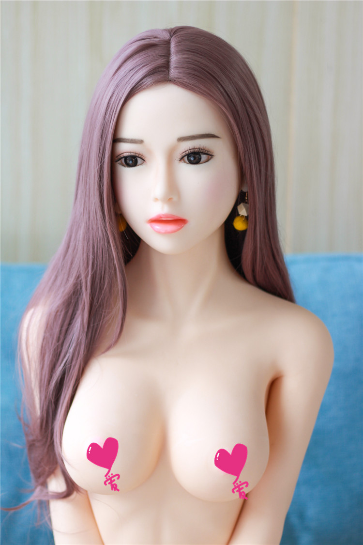 2019 Hot sales 158cm young girl huge breast young adult sex toy full silicone  real sex doll for men
